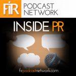 Inside PR podcast album art